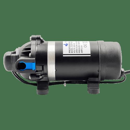 AQUA-LAB AQ-DP-120M диафрагменный насос для воды (5.5 л/мин, 220В) вид сбоку