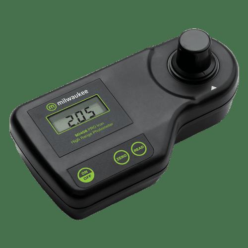 Milwaukee Electronics (США) Mi408 фотометр определяющий железо в воде вид сбоку