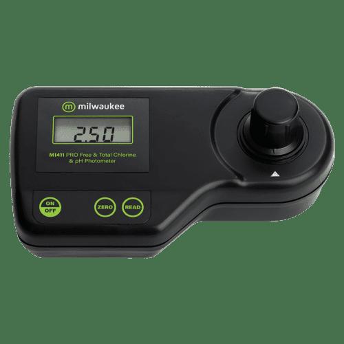Milwaukee Electronics (США) Mi411 (Фотометр pH, свободного и общего хлора)