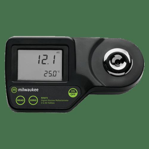 Milwaukee MA873 (рефрактометр для измерения глюкозы по шкале весовых % глюкозы (%w/w))