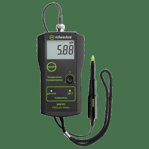 Milwaukee MW101-SOIL PRO pH метр для измерения кислотности почвы, масел, жиров, эмульсий