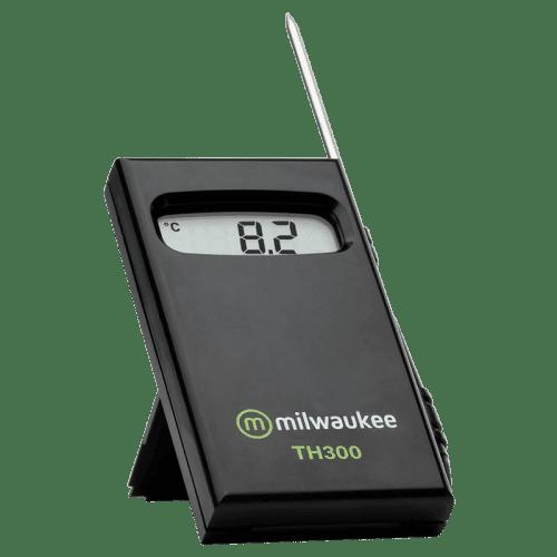 Milwaukee TH300 (термометр стальной электрод с проводом 1 м, от -50°C до 150°C) вид спереди