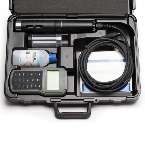 HANNA Instruments HI98195 портативный мультипараметровый измеритель рН/ОВП/проводимости (ГосРеестр)
