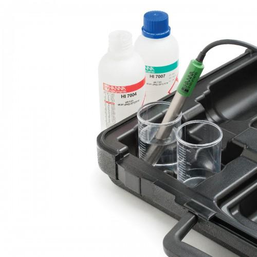 HANNA Instruments HI98190 влагозащищенный портативный pH/ОВП/термометр (ГосРеестр)