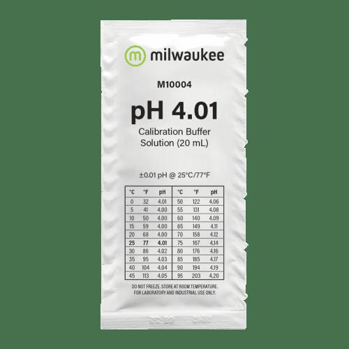 Milwaukee M10004B (калибровочный раствор pH 4.01 пакетик 20мл)