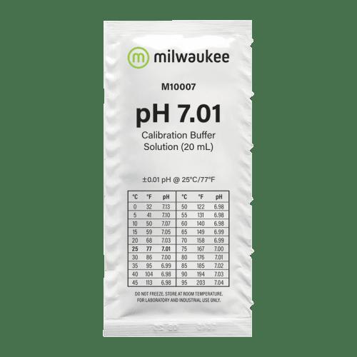 Milwaukee M10007B (калибровочный раствор pH 7.01 пакетик 20мл)