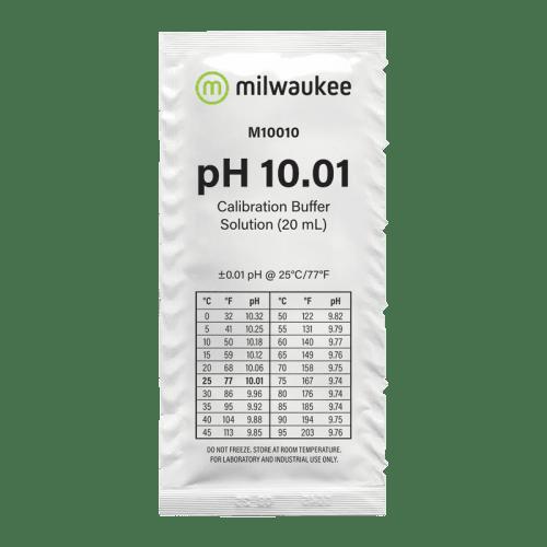 Milwaukee M10010B (калибровочный раствор pH 10.01 пакетик 20мл)