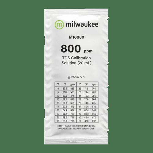 Milwaukee M10080B (калибровочный раствор 800ppm для TDS метров 20мл)