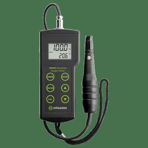Milwaukee Mi605 (оксиметр для измерения растворённого в воде кислорода до 45 мг/л)