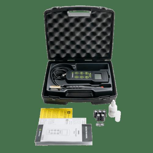 Mi605 Milwaukee оксиметр растворённого в воде кислорода комплектация с защитным кейсом и расходниками