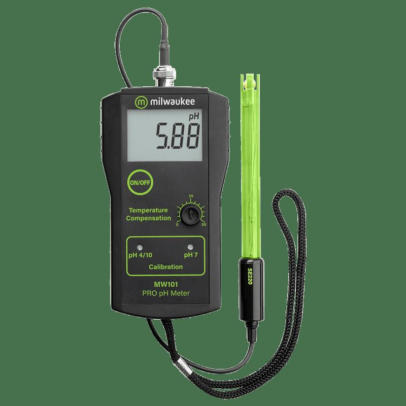 Milwaukee MW101 (pH метр для полутвердых сред)