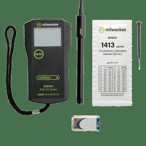Milwaukee MW302 EC метр кондуктометр 0-10 mS/cm комплектация