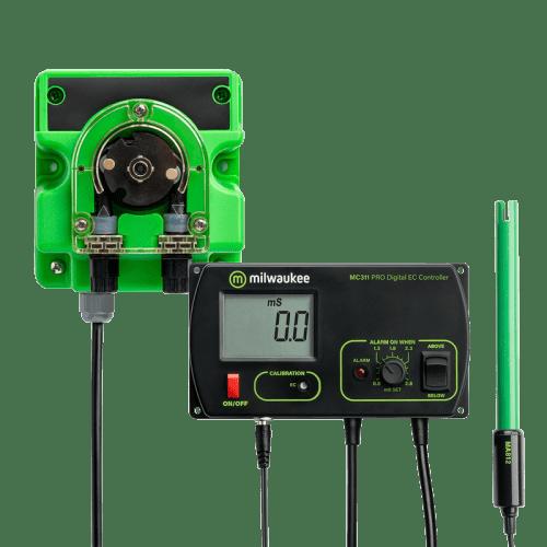 Автоматический стационарный EC метр Milwaukee MC740 для гидропоники