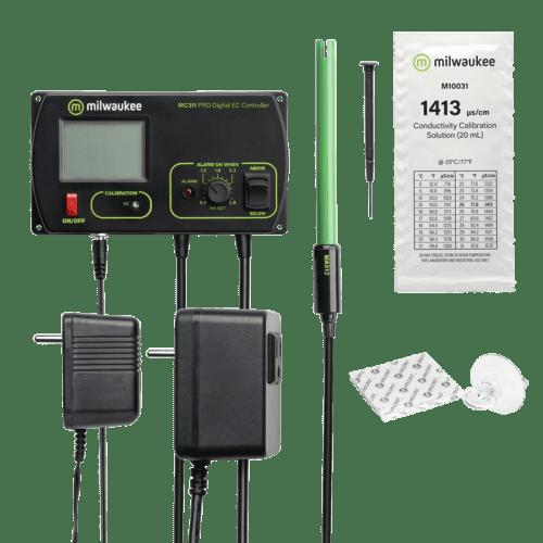 Автоматический стационарный EC метр Milwaukee MC740 для гидропоники комплектация