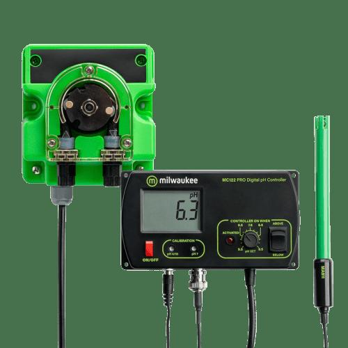 pH метр Milwaukee MC720 автоматический стационарный контроллер для аквариум