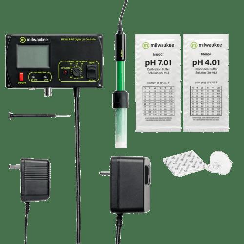 Milwaukee MC122 стационарный pH/CO2 метр контроллер для аквариума комплектация