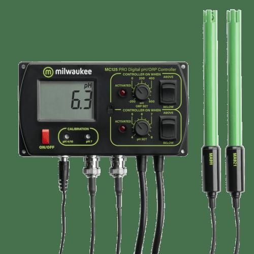 Milwaukee MC125 PRO pH/ORP/CO2 контроллер стационарный для аквариума