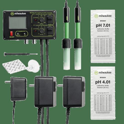 Milwaukee MC125 pH/ORP/CO2 контроллер стационарный для аквариума комплектация