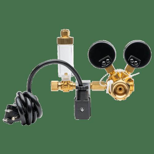 Milwaukee MA957 CO2 регулятор с электромагнитным клапаном вид сзади