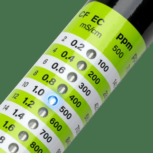 Milwaukee EC40 EC/TDS метр для измерения питательных веществ светодиодная панель