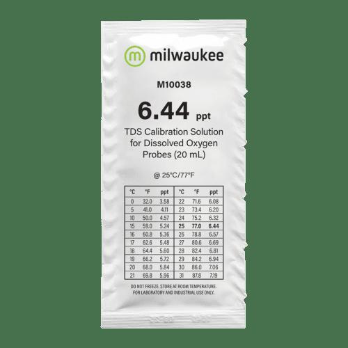 Milwaukee m10038b (калибровочный раствор 6.44 ppt для солемеров 20мл)