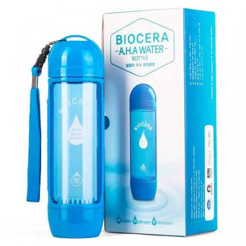 Ионизатор BioCera A.H.A Water Bottle с набором фильтров для душа Zero Filter