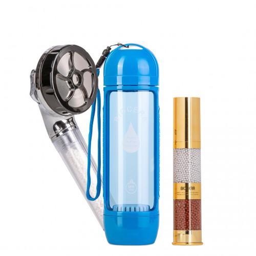 Набор Для красоты BioCera: ионизатор + насадка для душа + спрей