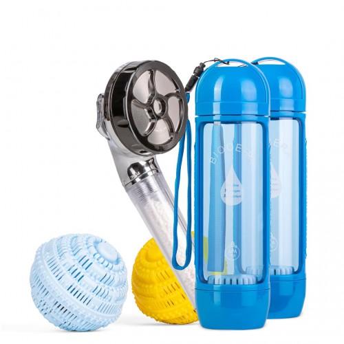 Набор BioCera: 2 ионизатора + шары для стирки + насадка для душа