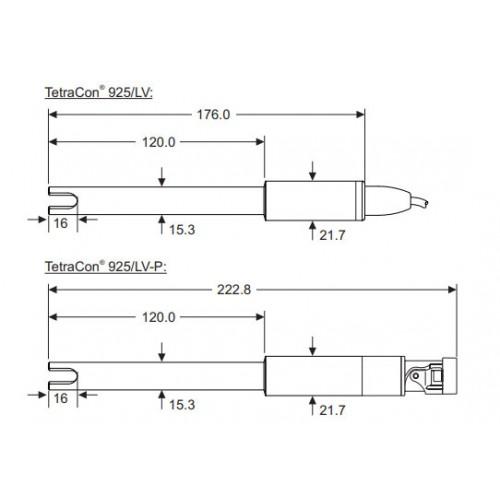 WTW TetraCon 925-3 цифровой 4х-электродный датчик, 3 м