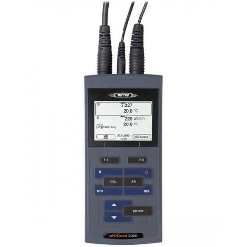 WTW pH/Cond 3320 (ГосРеестр) в кейсе с датчиками SenTix 41 и TetraCon 325