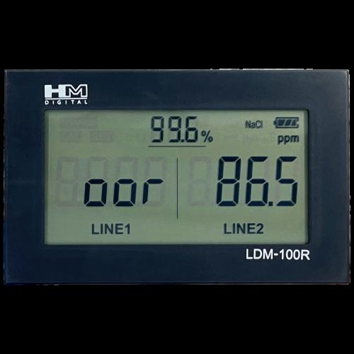 Двухканальный TDS/EC монитор для воды LDM-100R HM Digital с двумя электродами