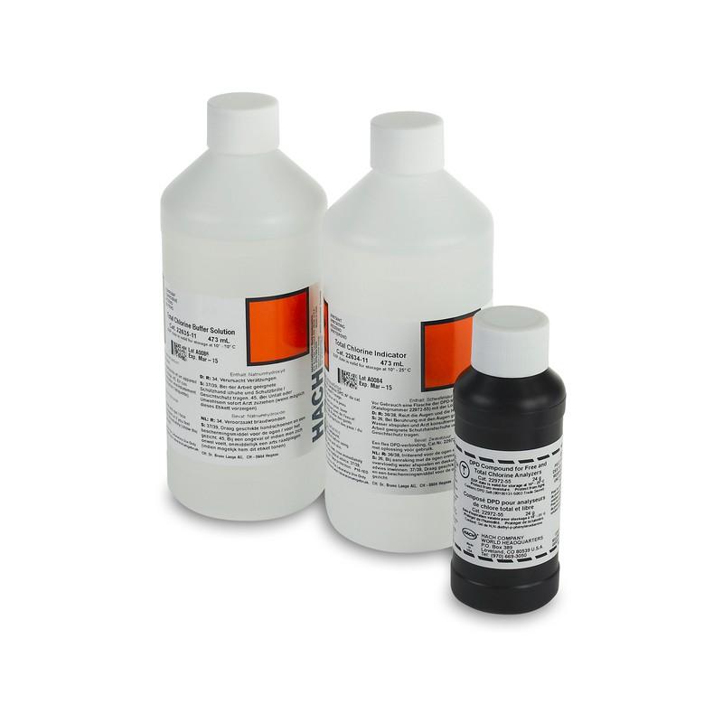 Реактивы для анализатора хлора CL17/CL17sc