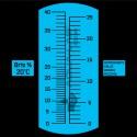 рефрактометр AQUA-LAB AQ-REF-BRIX4 шкала измерения