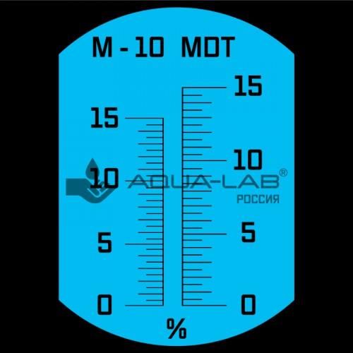 AQUA-LAB AQ-REF-EMU1 шкала измерения