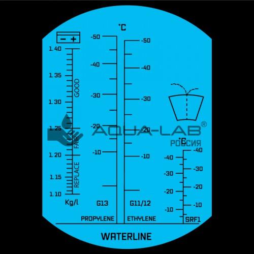 AQUA-LAB AQ-REF-ETH1 шкала измерения