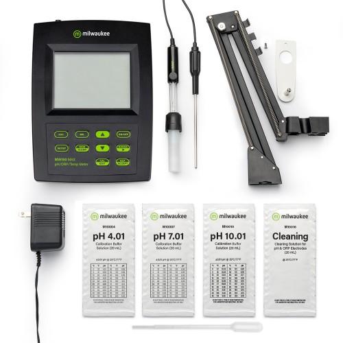 Milwaukee MW150 MAX pH / ORP метр / термометр