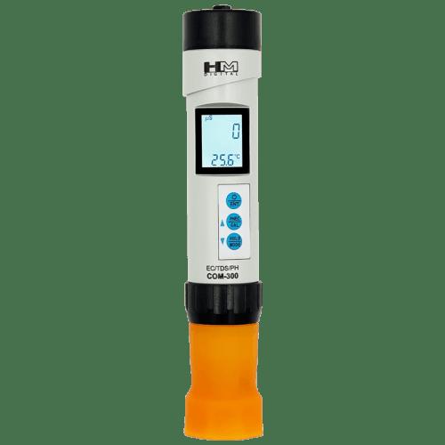 HM Digital COM-300 (pH/EC/TDS метр/термометр °С) подсветка дисплея
