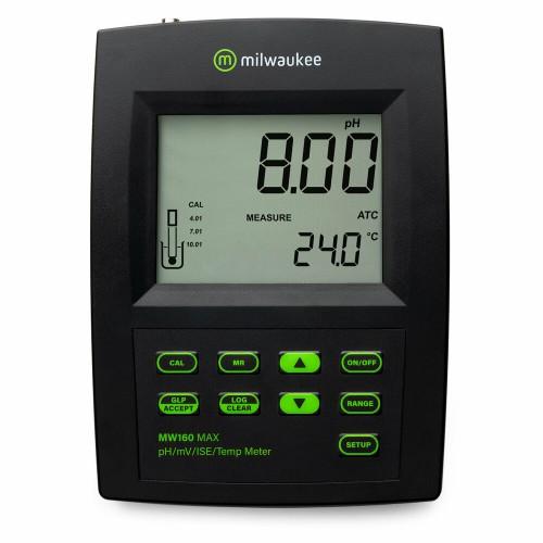 Milwaukee MW160 MAX лабораторный тестер 4-в-1 pH/OPR/ISE/Temp