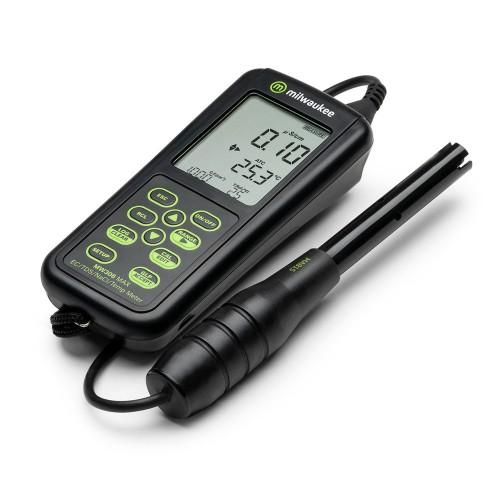 Milwaukee MW306 MAX профессиональный тестер EC/TDS/NaCl/Темп с подключением к ПК