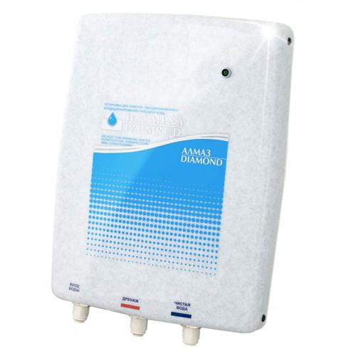 Установка Изумруд-Алмаз-60-8 (КФ) для очистки питьевой водопроводной воды, настенный монтаж