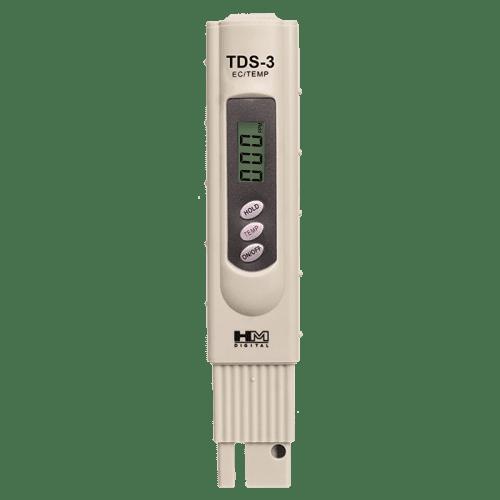HM Digital TDS-3 TDS-метр, солемер, термометр