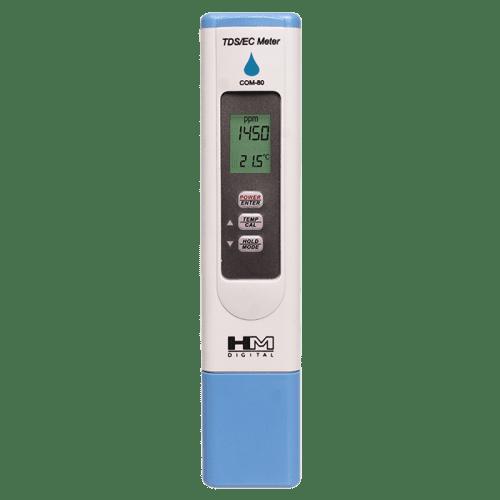 HM Digital COM-80 кондуктометр, солемер, термометр
