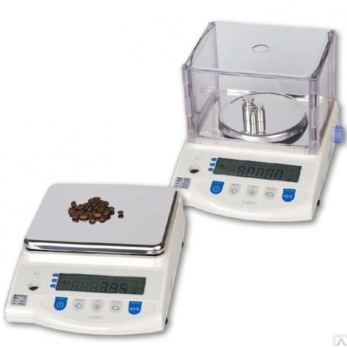 Весы лабораторные VIBRA AJ-8200CE (8200 г, 0,1 г, внешняя калибровка)
