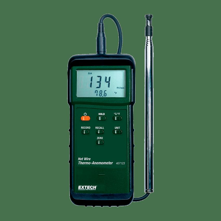 Ручной анемометр (портативный анемометр)