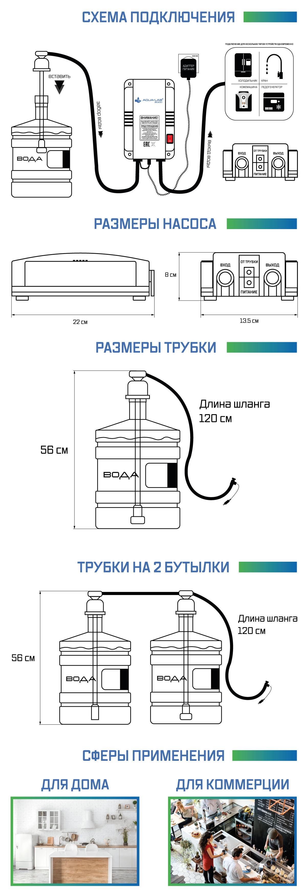 описание насоса aq-6000 ч2