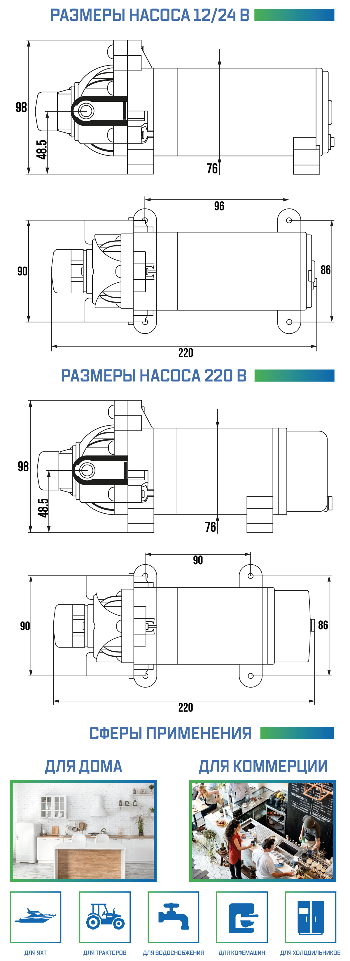 насос aq-dp-120 описание