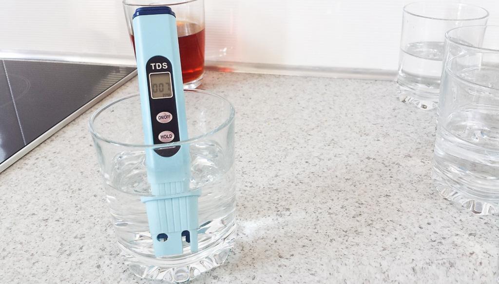 pH метр хранение в воде