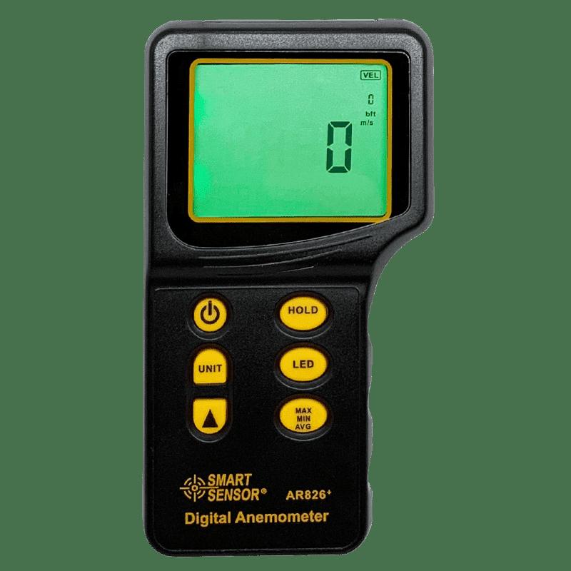 экран анемометра ar826