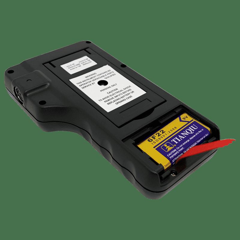 батарейный отсек анемометра ar826