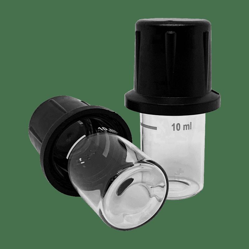 Стеклянные кольбы для измерений железа в воде прибором Milwaukee Electronics Mi408